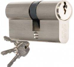 Wkładka CAM EKO 30/45 nikiel zamka drzwi furtki