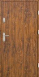 Drzwi PTZ55 80N Prawe Złoty dąb Gładkie 864x2075
