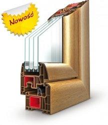 Okna PCV Drutex IGLO ENERGY Okno energooszczędne - pomiar