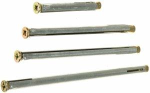 Kotwa łącznik do ościeżnic drzwi KO 10x202 100szt