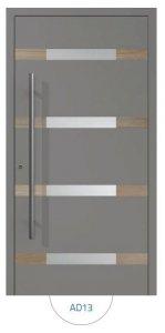 Drzwi wejściowe zewnętrzne Aluprof MB86 wzór AD13