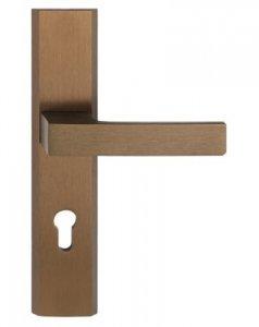 Klamka do drzwi bezpieczna TOTAL PATYNA PRAWA 92mm
