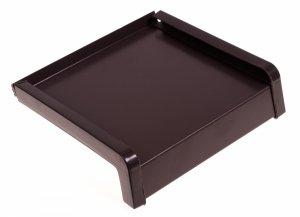 Parapet zewnętrzny stalowy blacha brąz 8019 400mm 1mb