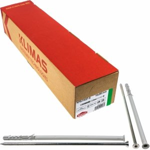 Kołki ramowe rozporowe 10x260 STOŻEK TX torx 25szt