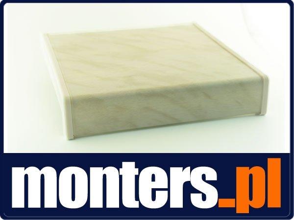 Parapet wewnętrzny plastikowy PCV marmurek 150mm 1mb