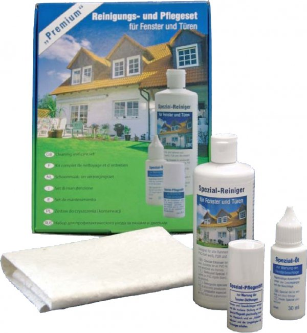 Cosmoklar PR zestaw do pielęgnacji okien PCV biel