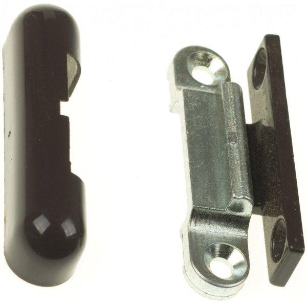 Docisk zewnętrzny łączony BRĄZOWY do okien okucie