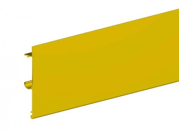 Maskownica do prowadnicy H2 drzwi 2000mm złota płaska herkules
