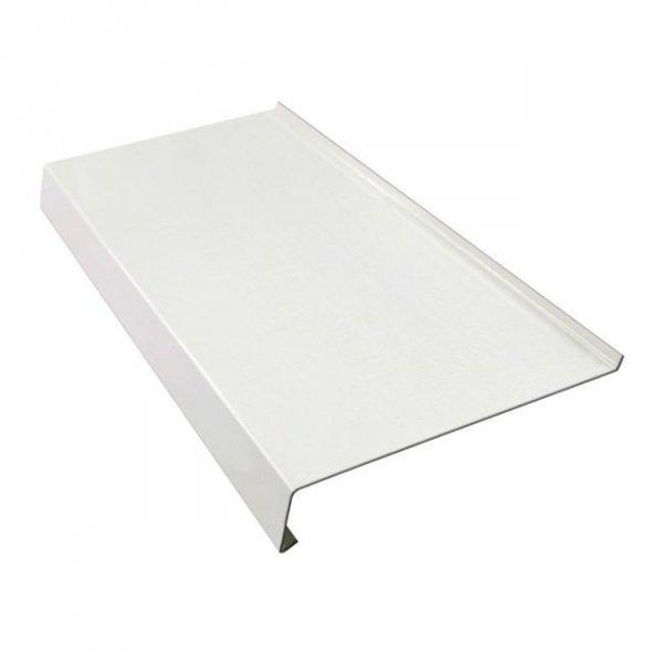 Parapet zewnętrzny stalowy blaszany biały 200mm 1mb