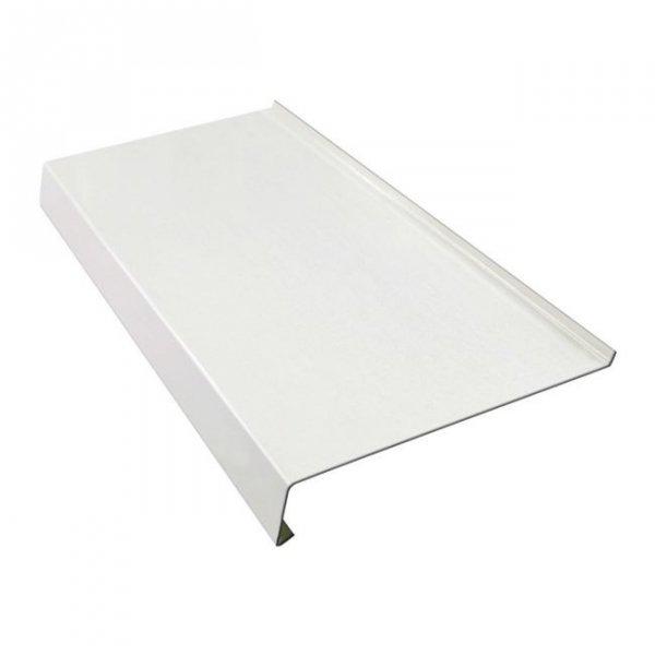 Parapet zewnętrzny stalowy blaszany biały 325mm 1mb