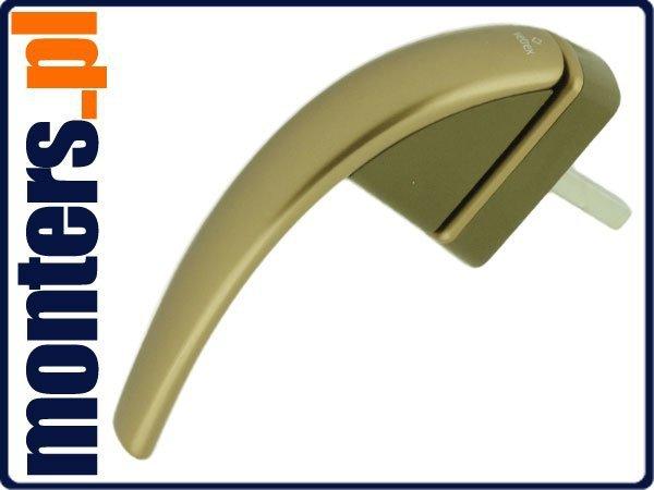 Klamka okienna Roto Swing secustik Złota R055 43mm