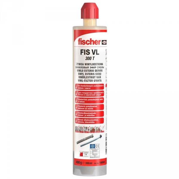 Kotwa chemiczna Fischer VL 300 T zaprawa żywica