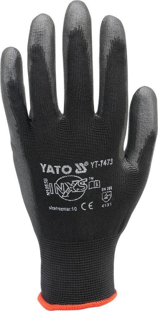 Rękawice robocze monterskie nylonowe CZA YATO 7473