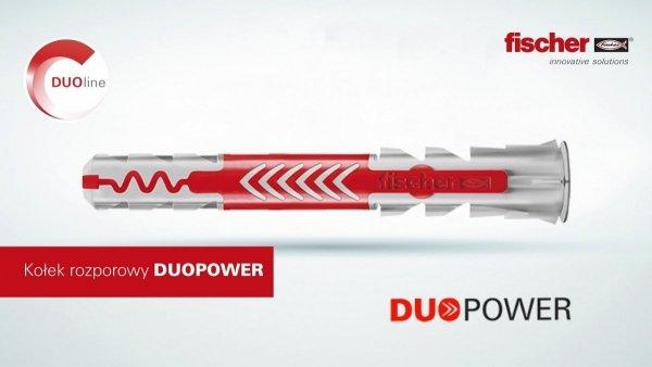 Kołki Fischer DuoPower koszulka kołek 6x50 100szt