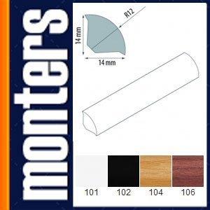 Ćwierćwałek listwa do okien 14x14mm buk 105 2,5m.