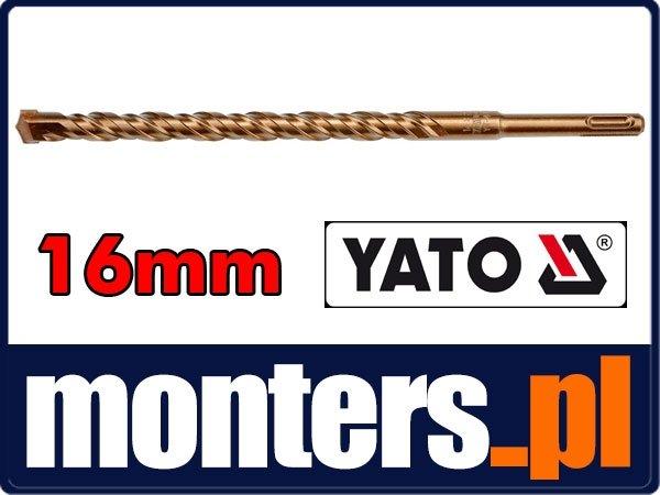 Wiertło do betonu 16x300mm sds plus 3pnt YATO 4182