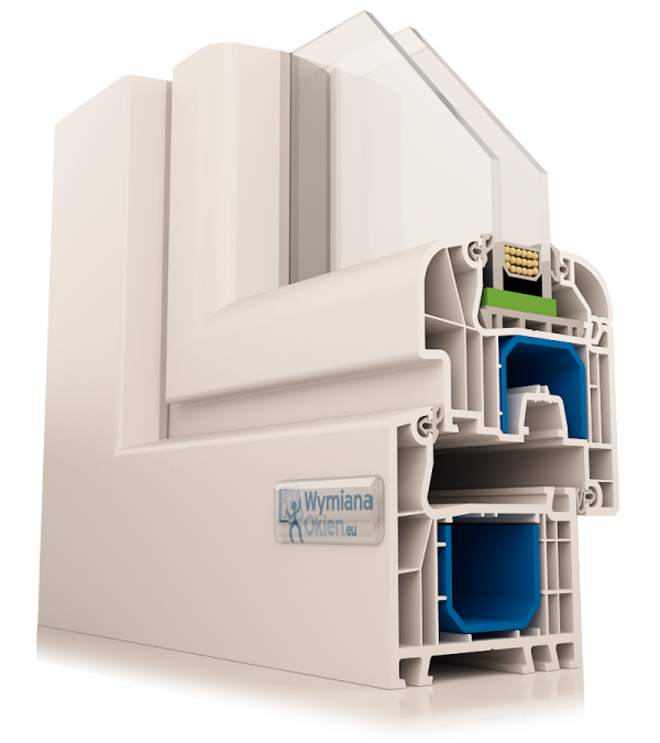 Okna PCV Aluplast Ideal 4000 Okno energooszczędne - pomiar
