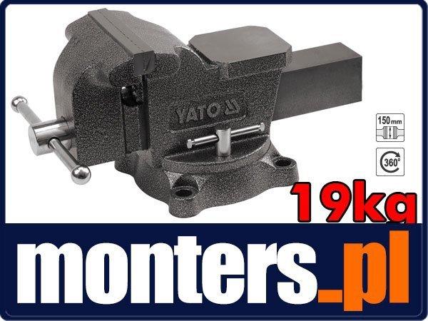 Imadło ślusarskie obrotowe 150mm 19kg YATO-65048