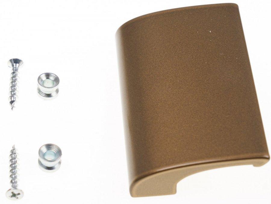Aluminium-Balkontürgriff Deluxe Gold Balkongriff Ziehgriff Terrassentürgriff Gri