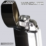 [RON-03] Ronson™ Prestiżowa Zapalniczka WindLite Shiney Chrome