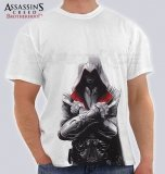 [TSH-34] Assassin's Creed™ T-shirt Koszulka Ezio Auditore da Firenze L