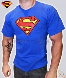 [TSH-45] Superman™ T-shirt Koszulka Classic Logo Super Hero Blue XL