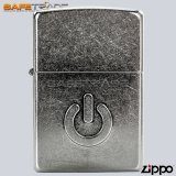 [ZIP-76] Unikat Zapalniczka Zippo™ Power Design Street Chrome Silver