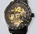 [ZIK-22] IK Colouring Black Skeleton Limited Edition v4 Zegarek Mechaniczny