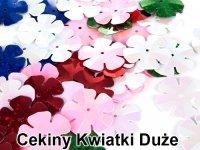 Cekiny Kwiatki Duże 20mm
