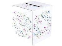 Pudełko na Pieniążki w Kwiaty [ Komplet - 10 sztuk]