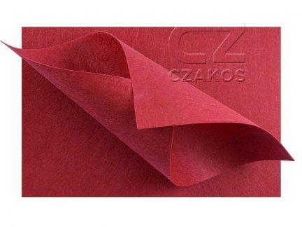 Filc 2mm Duży 30x40cm Czerwony [ZESTAW 10 SZTUK]