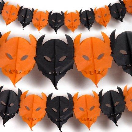 Girlanda Diabły Halloween 3D [Komplet 10szt]