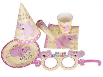 Zestaw Urodzinowy dla Dziewczynki [ZESTAW - 5 KOMPLETÓW]