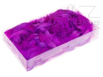 Piórka w pudełku - Fiolet [Komplet 10szt.]