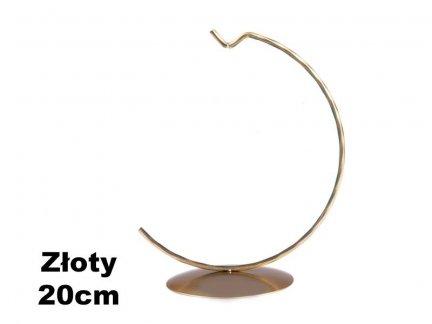 Stojaki Pełne Złote na Bombkę 20cm [Komplet - 20Sztuk]