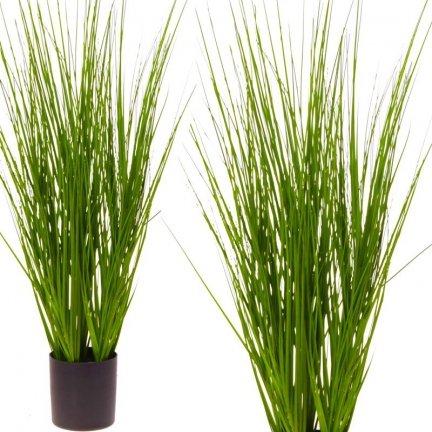 Trawa Dekoracyjna Zielona 70cm [Komplet 2szt]