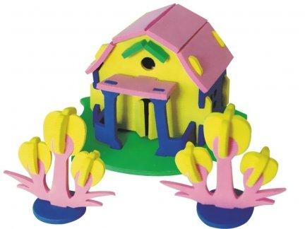 Zestaw Domek 3D Mały 5 [komplet 10 sztuk]