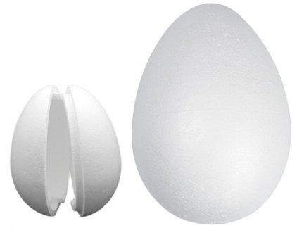 Jajka Styropianowe Puste 2 Połówki 20cm [Komplet 20szt]