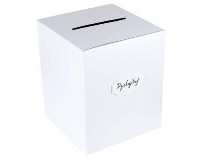 Pudełko na Pieniążki Białe [ Komplet - 10 sztuk]