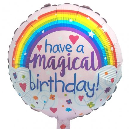Balon Foliowy Have a Magical Birthday [Komplet - 4 sztuki]