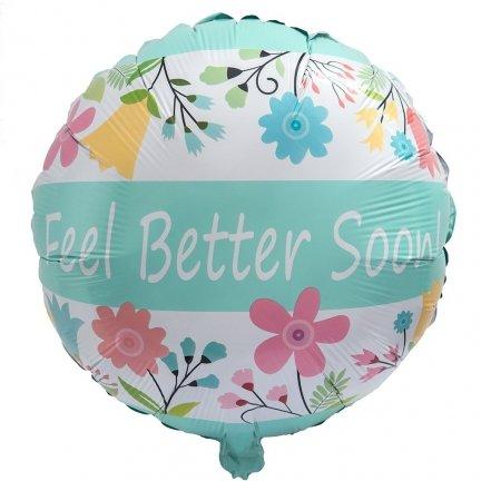 Balon Foliowy Feel Better Soon! [Komplet - 4 sztuki]