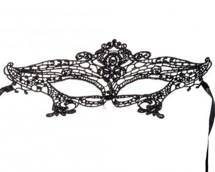 Maska Ażurowa Czarna [Komplet 40szt]