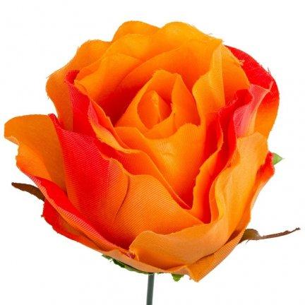 Główka Róża 7,5cm W146-41 [Komplet - 12sztuk]