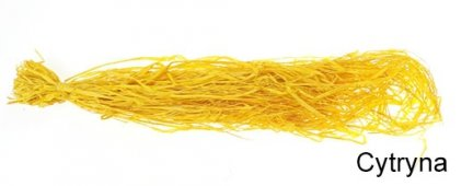 Rafia Kolor Cytryna [Komplet - 10 Sztuk]