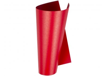 Papier Perłowy - Czerwony [Komplet - 100 arkuszy]