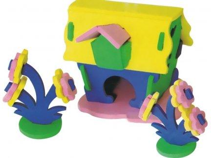 Zestaw Domek 3D Mały 4 [komplet 10 sztuk]