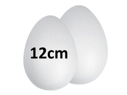 Jajka Styropianowe 12cm [Komplet-Zestaw 240szt]