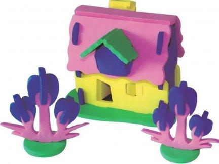 Zestaw Domek 3D Mały 1 [komplet 10 sztuk]