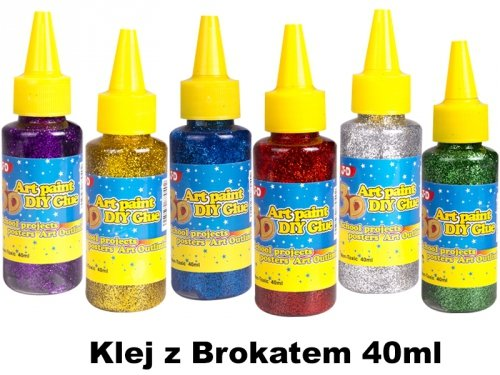 Klej z Brokatem 40ml