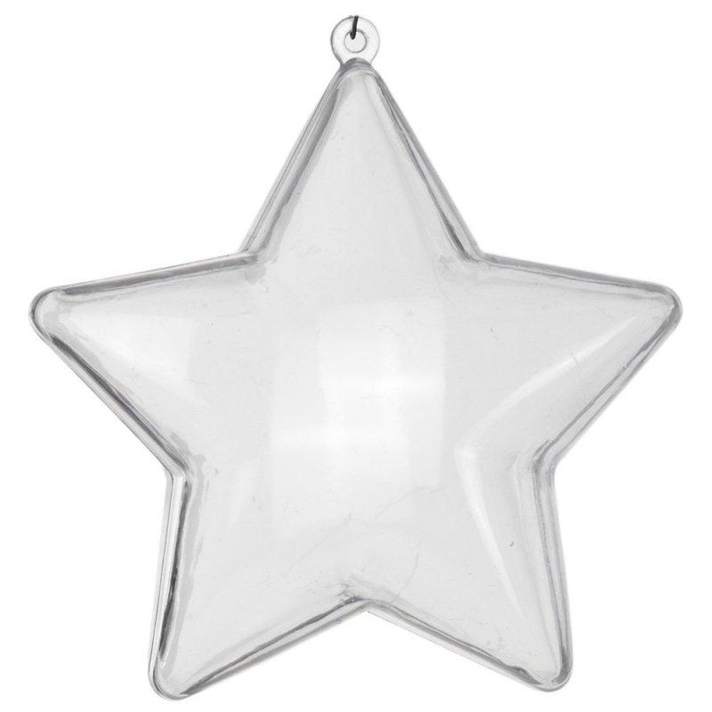 Gwiazdka Akrylowa 10cm [Komplet 24szt]